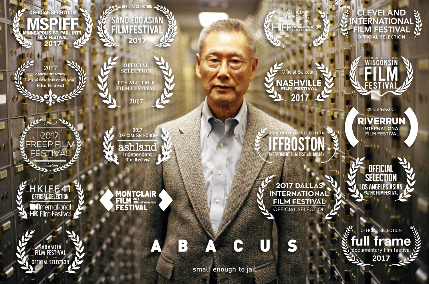 Image result for abacus small enough to jail poster