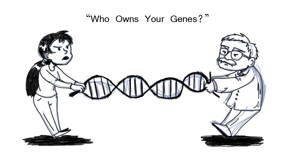 gene patent A gene patent is intellectual property, which gives the patent holder the right to exclude others from making, using, selling, or importing an.