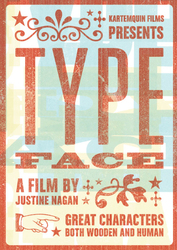 Typeface DVD cover