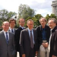 Outside the Library of Congress after testifying before the U.S. Copyright Offic